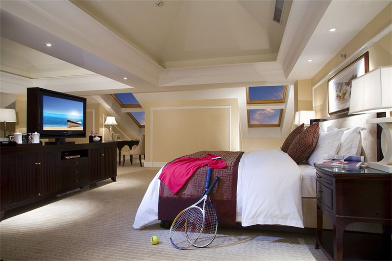 精致时尚的酒店客房