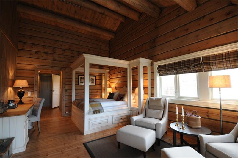 自然雅致的精品酒店客房空间设计案例