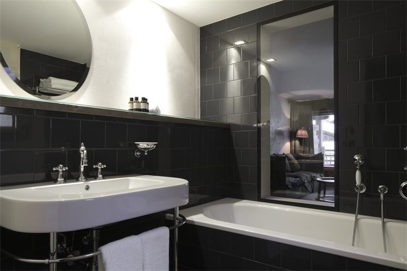 酒店客房洗浴空间