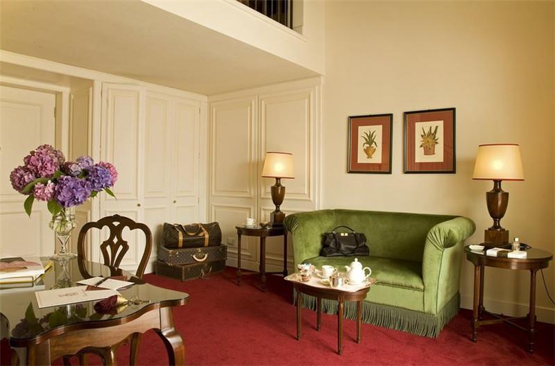 酒店客房局部空间