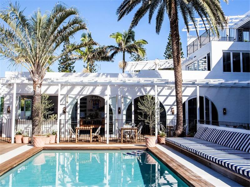 酒店室外游泳池
