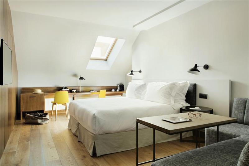 勃朗酒店设计公司分享马德里图腾精品酒店设计案例