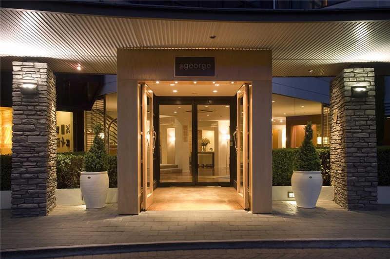 酒店入口处