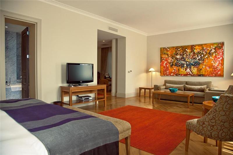 宽敞的客房空间