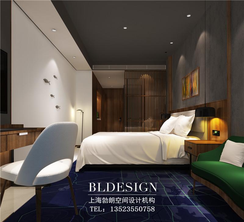 精品酒店设计:客房空间效果图