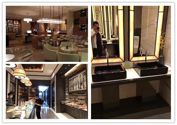 酒店公共空间:餐饮空间以及客房室内空间细节