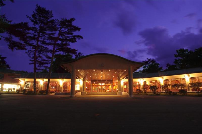酒店夜景:外观