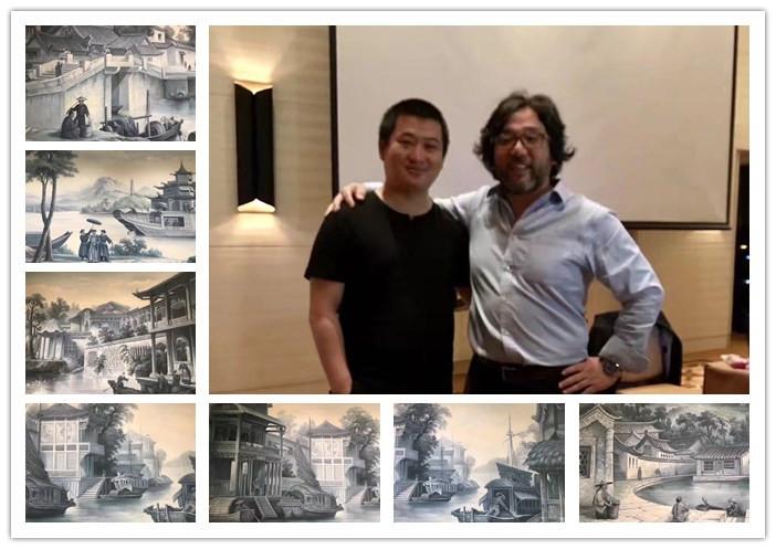 勃朗设计天津行合影