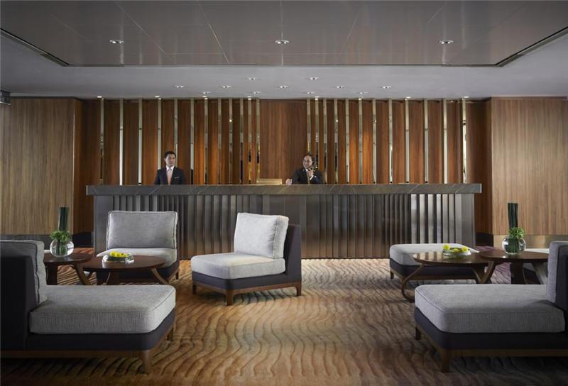 香港洲际酒店大堂