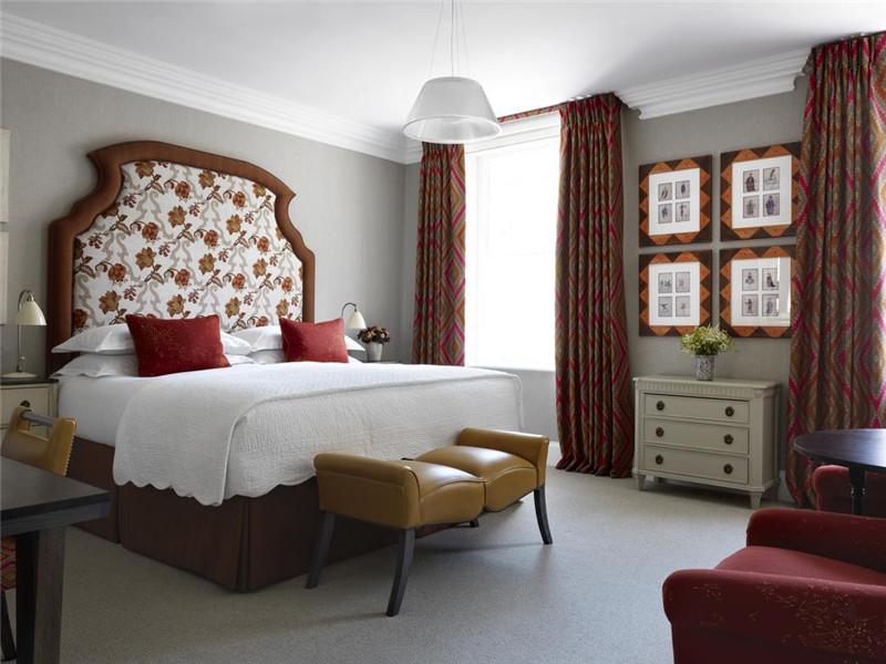 精致优雅的精品五星级酒店客房空间设计案例