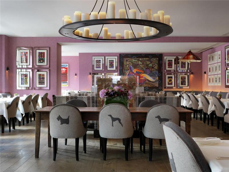酒店餐饮空间:餐厅设计方案