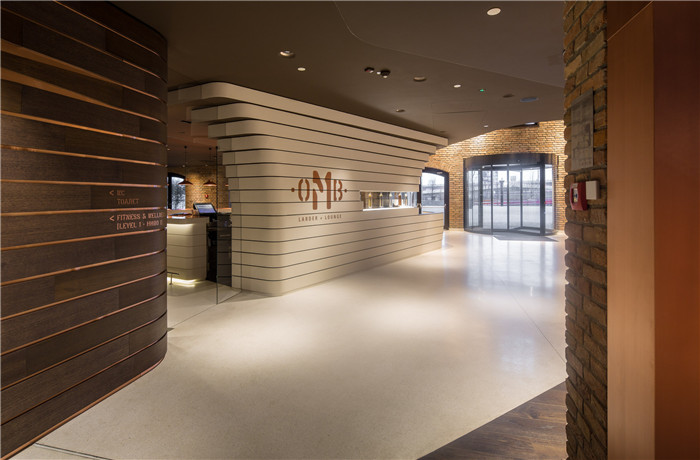 新旧结合的经典 国外改造而成的四星级精品酒店公共空间设计案例