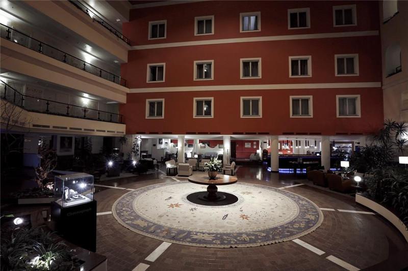 酒店局部建筑