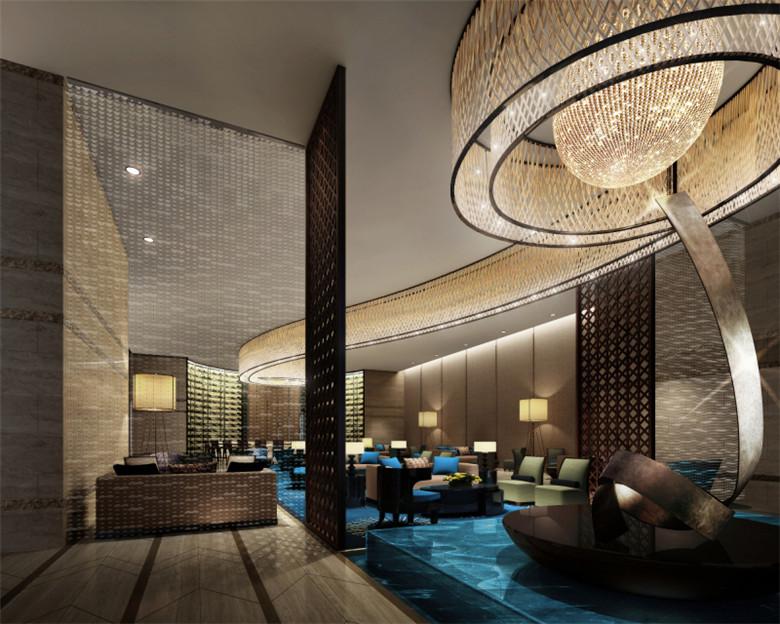 酒店室内空间装修设计案例