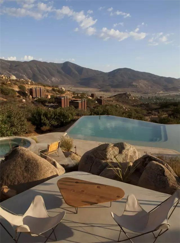 自然优雅的墨西哥Endemico生态精品酒店空间设计案例