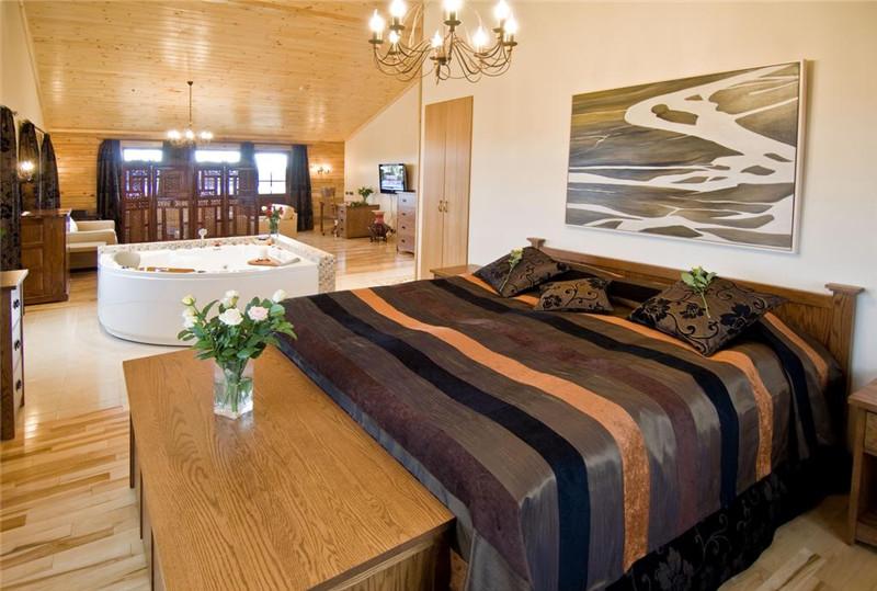 奢华优雅的小木屋 冰岛朗高精品度假酒店空间设计实景图