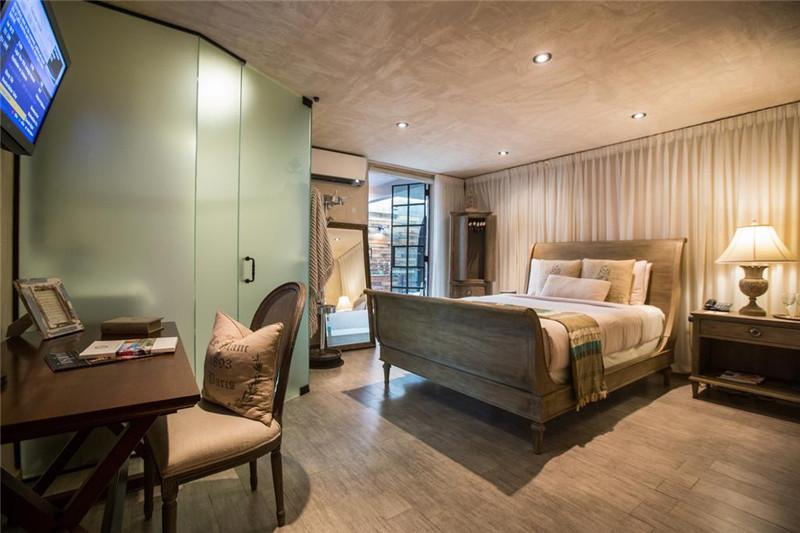 Olive地中海艺术文化主题精品酒店空间设计实景图
