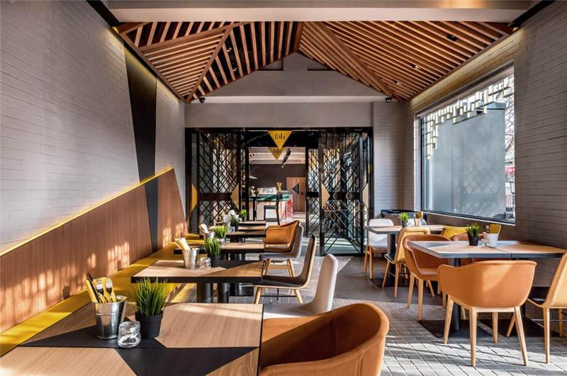 酒店餐厅设计实景图