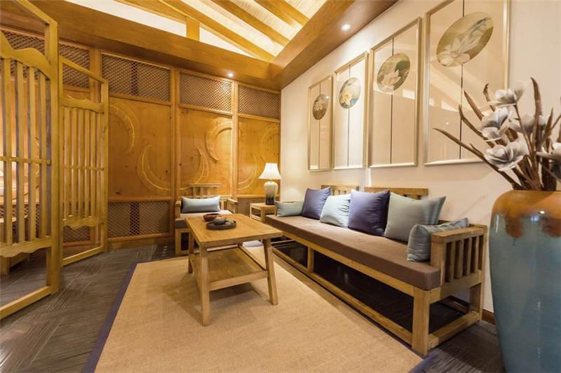 自然优雅的酒店空间设计案例