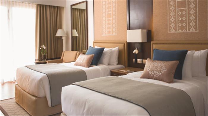 酒店客房空间设计实景图