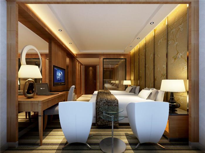 酒店客房实景图