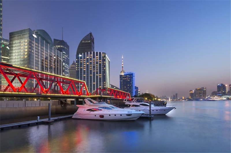 文华东方酒店建筑室外风景