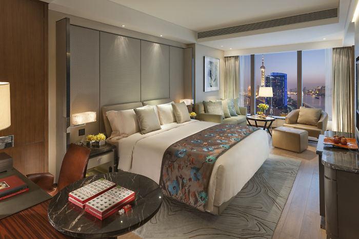 文华东方酒店客房空间设计实景图