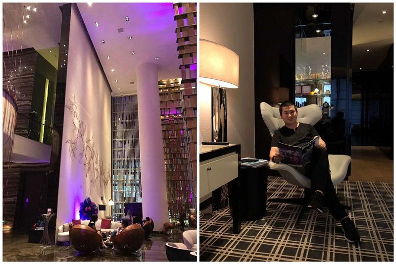 勃朗设计师W酒店