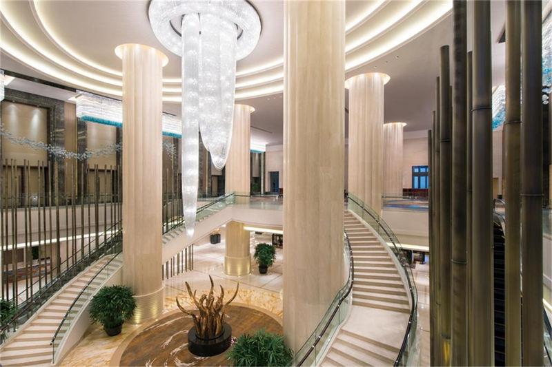 酒店大堂局部细节设计实景图