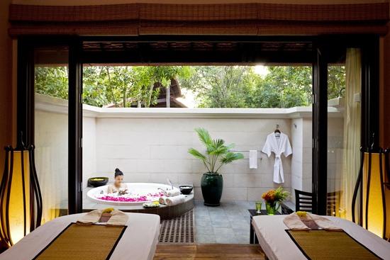 酒店spa休闲空间设计实景图