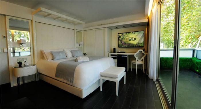 不错的酒店客房空间