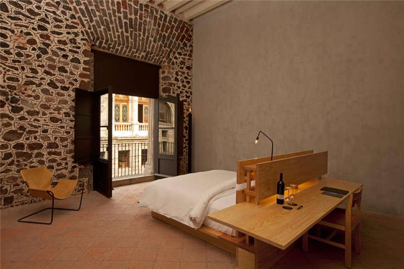 墨西哥市区特色精品酒店客房空间装修设计案例