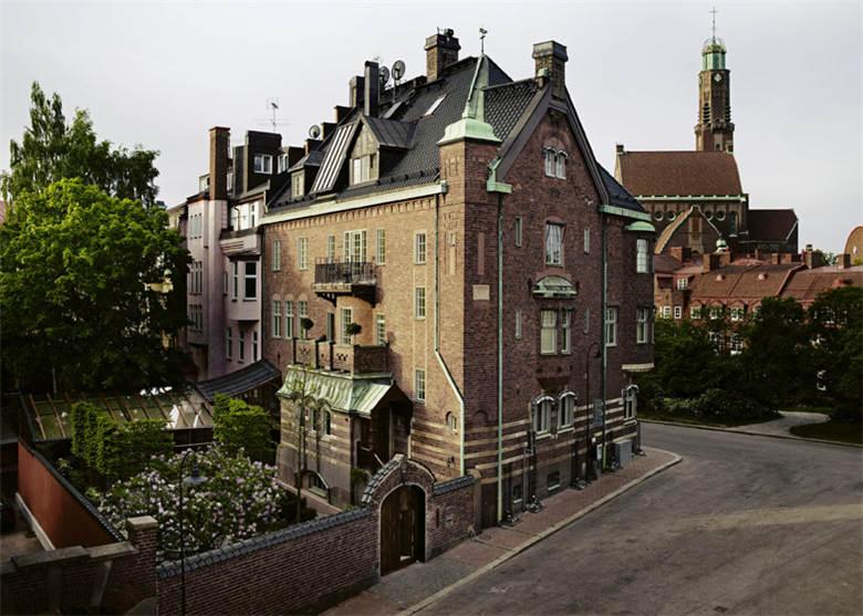 家园旅馆建筑外观