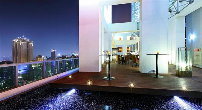 酒店建筑室内:室外视觉实景图