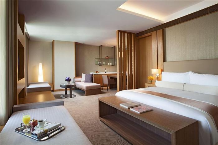 舒适的酒店客房空间:客房布局设计欣赏