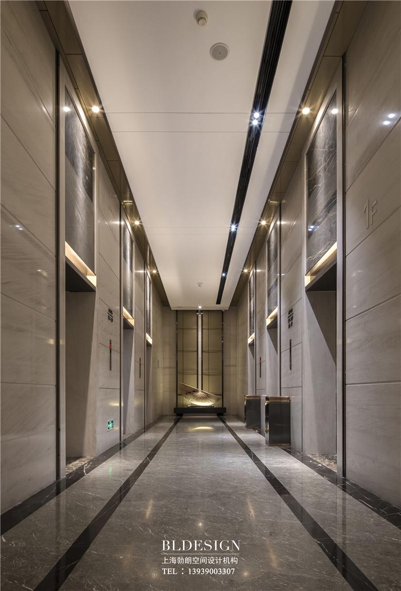 郑州铭汇文华酒店电梯厅设计