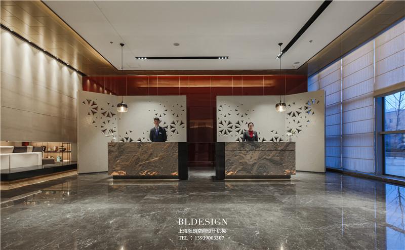 郑州铭汇文华酒店大堂设计实景图