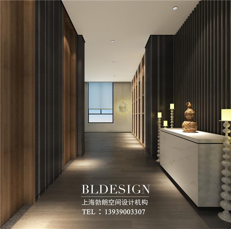 河北精品酒店电梯厅装修设计方案