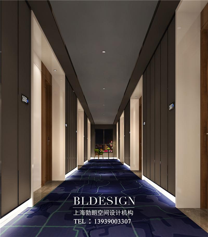 河北精品酒店客房走廊装修设计方案