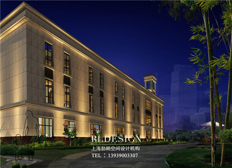 精品酒店外观设计方案