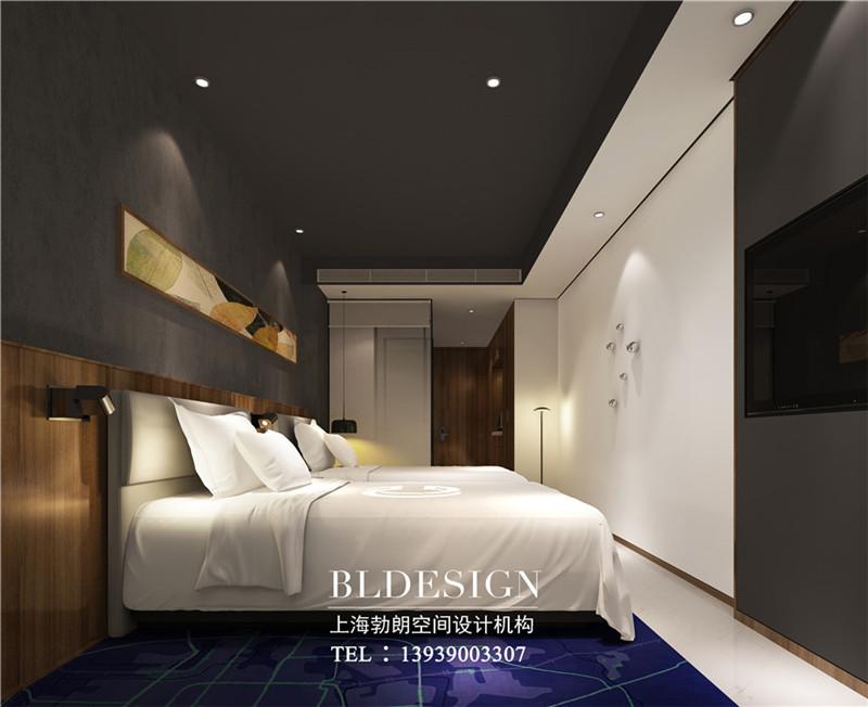 河北精品酒店标准间装修设计方案