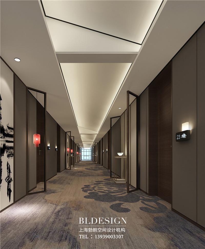 开封文化主题精品酒店客房走廊设计效果图.jpg