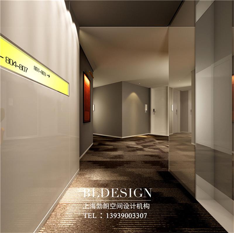 洛阳鼎诺都市精品酒店走廊设计