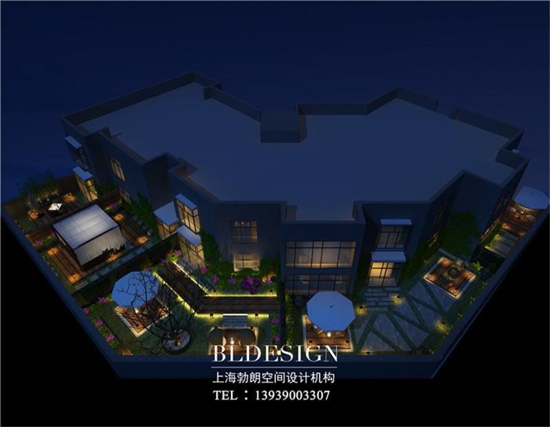 洛阳鼎诺都市精品酒店露台设计