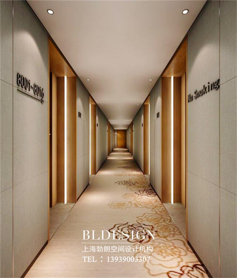 洛阳图宁精品商务酒店走廊设计