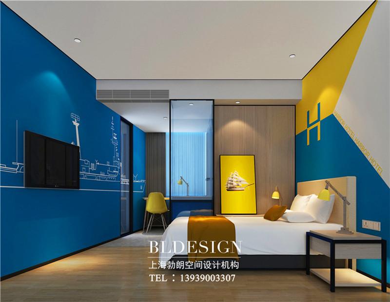 郑州哈泊连锁酒店客房设计