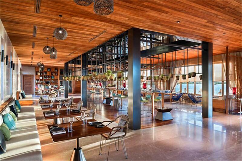 缅甸首家索菲特度假酒店餐厅设计