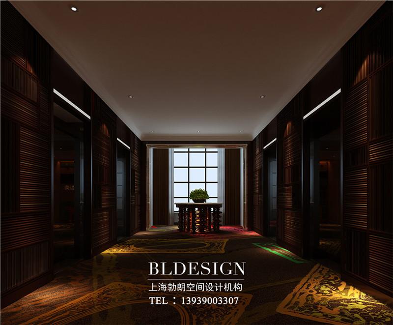 郑州莱酒店电梯厅设计
