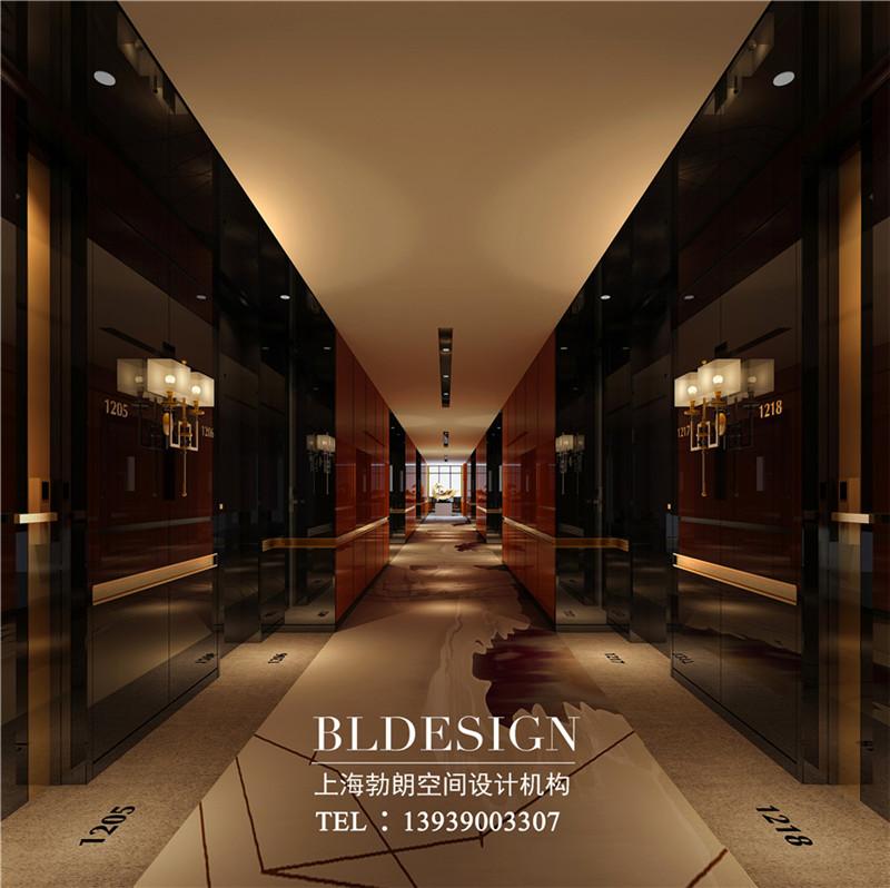 郑州莱酒店走廊设计