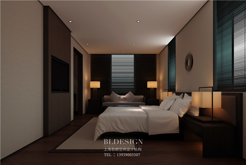 兰泽水舍酒店客房设计案例